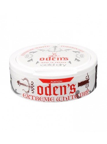 SNUS ODENS WHITE COLD DRY EXTREME