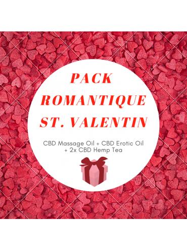Pack CBD Romantique St. Valentin