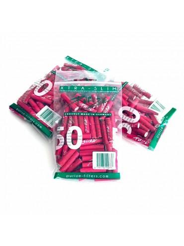 Achat de filtres purize xtra-slim roses dans le shop de CBD en ligne B-Chill !