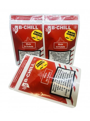 B-Chill CBD Suisse Swiss Cheese