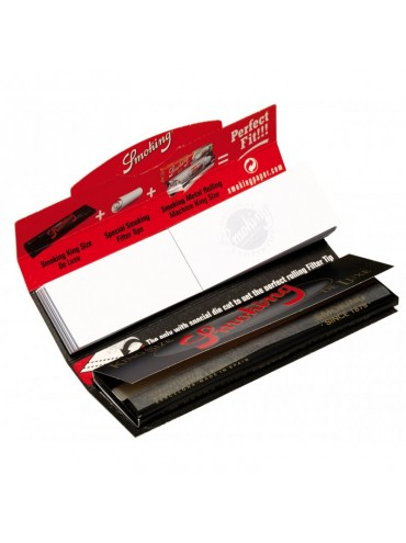 FEUILLES A ROULER SMOKING DELUXE + FILTRES