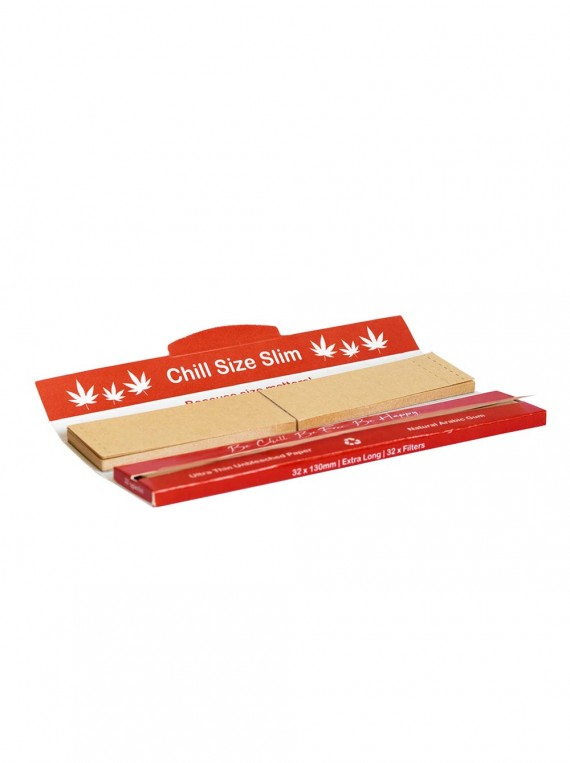 Chill Size Slim 130mm Rolling Papers