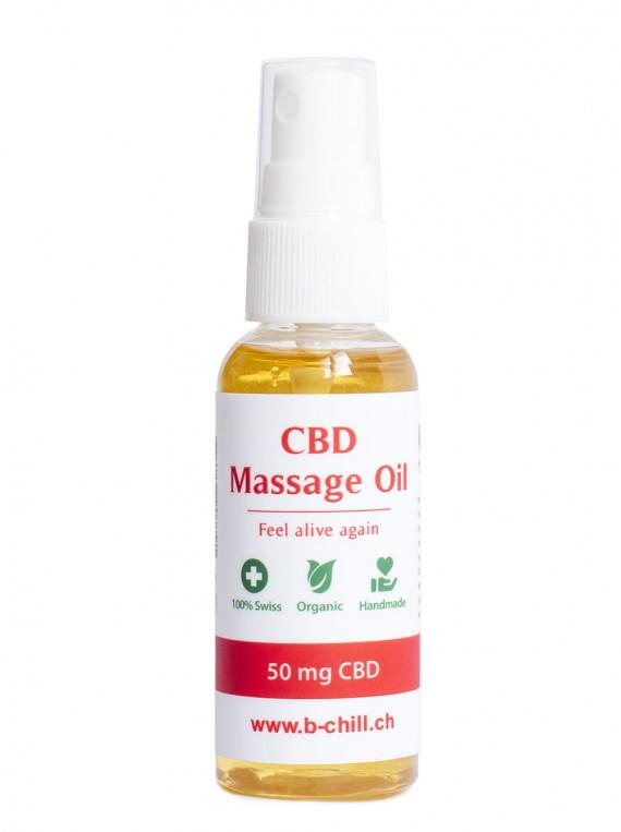 Vente de CBD Suisse : Huile de massage